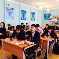 "Realization of intellectual game ""Round the world"" with students 11 class of secondary school №68"