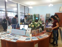 "Book exhibition ""Destiny of the earth – destiny of the country""."