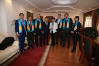 Meeting of public figures with KEU student youth in honor of supporting N.A. Nazarbayev