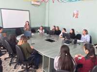 Held information briefing student scientific societies «Zerde»