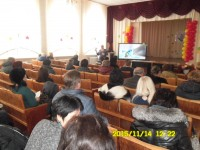 Meeting with the parents of students  to Gymnasium 1