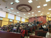 International programs, projects and Academic mobility Center of the University in the framework of the global event #ErasmusDays 2019 October 10, 2019 held an information day «Implementation of international projects of the Erasmus+ program in Karaganda
