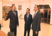 Akim visit in KEUK (Video)