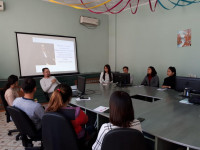 "Meeting in the Technology Business Incubator ""Coworking Center"" Dostyk """