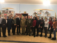 A curatorial hour on the celebration of the 30th anniversary of the withdrawal of the Soviet Army from Afghanistan was held