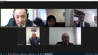 "Online round table with RSE "" Kazakhstan Institute of standardization and Metrology ""(Kazstandart) on cooperation with Karaganda economic University of Kazpotrebsoyuz in the field of technical regulation, standardization and Metrology"