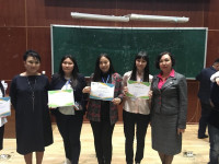 "KEUK students took IIId place in the XI Republican student subject Olympiad in the field of ""Management"" and ""State and local government"" in Almaty"