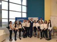 "Enactus KEUK team members took part in the Big Business Forum ""ASTANA BASTAU BUSINESS TERRITORY"""