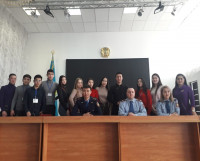 "February 7 - ""Day of open doors""""» In the police Department of the Karaganda region."
