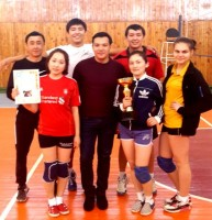 Volleyball competition for students of Karaganda c.colleges and schools