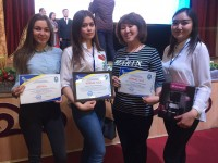 The Faculty of business and law congratulates the winners of the Republican student subject Olympiad
