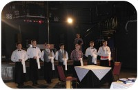 The contest of professional craftsmanship «The best waiter of the Karaganda c. – 2015»