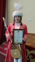 "Julia Evsyukova took part  in the competition  ""Abay okulary ""."