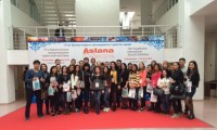 "Students of specialties ""Tourism"" and ""Restaurant business and hotel business"" have visited the 13th Kazakhstan International Tourism Exhibition «Astana Leisure 2016"""