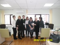 "A vocational orientation is in  ""SBERBANK"""