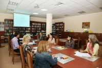 "Round table for students, undergraduates and teachers on the theme: ""Prospects of development of the national system of Kazakhstan in conditions of institutional reforms to ensure the rule of law"""