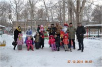 "Students of academic groups J-31k and J-32k visited the children's home ""Umit"""