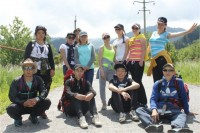 Tourists have returned from the training of tourist campaign