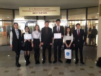Congratulations to winners of interuniversity competition!