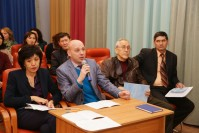 "In the Karaganda Economic University an online discussion was held together with the Southern Ural State University and the Foundation for Socio-Economic Development ""Eurasian community"""