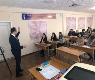 "Associate Professor Karzhasova G. B. of the Department of ""General Legal and special disciplines"" held an open class on the subject: ""Procedural law of the Republic of Kazakhstan»"