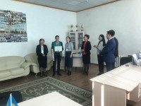 Prize III-place in the Republican student subject Olympiad in the specialty «Fundamentals of law and Economics»!