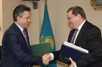 Industrial practice in the Ministry of Finance of the Republic of Kazakhstan