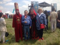 KEUK's participation in the international festival of Turkic people