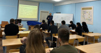 "Professor Balgimbekov D. U. of the Department of ""General Legal and special disciplines"" held a demonstration lesson on the discipline: ""Production of pre-trial investigation of economic crimes»"