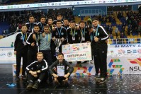 THE  TEAM OF KEU IS THE SILVER MEDALIST OF FUTSAL  NATIONAL STUDENTS  LEAGUE OF SPRING-AUTUMN SEASON 2017.