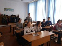 Meeting with the pupils of the final classes of schools No. 1, 3, 7 of the city of Karazhal