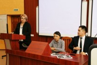 "Meeting the faculty and students are invited to the managers of «ZHILSTROYSBERBANK» and «Sberbank» are invited on the theme of ""Mortgage lending"""