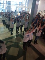"Flashmob ""We are 25"" in honor of Independence Day !!!"