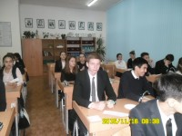 A visit of class hour is in Gymnasium №1