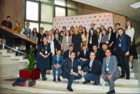 "From October 20 to 23, the Russian-Kazakhstan youth forum ""Young scientists!"" Was held in Moscow."