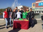 "Scientific - Research Student Club ""Eco Life"" took part in tree planting"