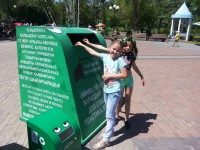"Ecological action ""Divide, give, recycle!"""
