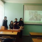 Meeting with students enrolled in academic mobility program abroad