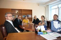 THE MEETING OF THE SCIENTISTS OF KARAGANDA ECONOMIC UNIVERSITY OF KAZPOTREBSOYUZ AND FOREIGN PROFESSORS FROM HUNGARY AND CZECH REPUBLIC