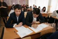 The report on kazakh language subject olympiad «Тіл білгірі» of the department «Kazakh language and the culture of Kazakhstan»