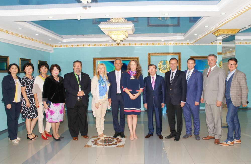 Visit of the Romanian Delegation headed by the Ambassador Extraordinary and Plenipotentiary of Romania to the Republic of Kazakhstan, Mr. Cesar Manole Armeanu
