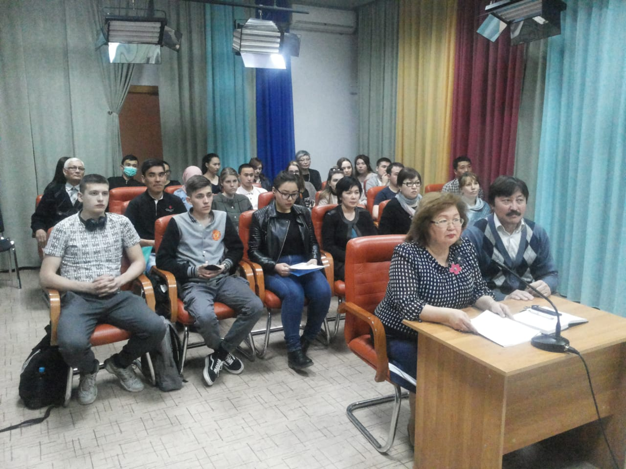 ON-LINE CONFERENCE WITH OMSK STATE TECHNICAL UNIVERSITY